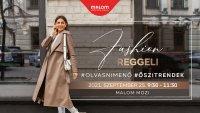 Inspiráló könyv, stresszűző bor és remek stílus, ilyen az őszi megújulás a kecskeméti Fashion Reggelivel!
