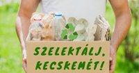 Így működik a szelektív hulladékgyűjtés Kecskeméten